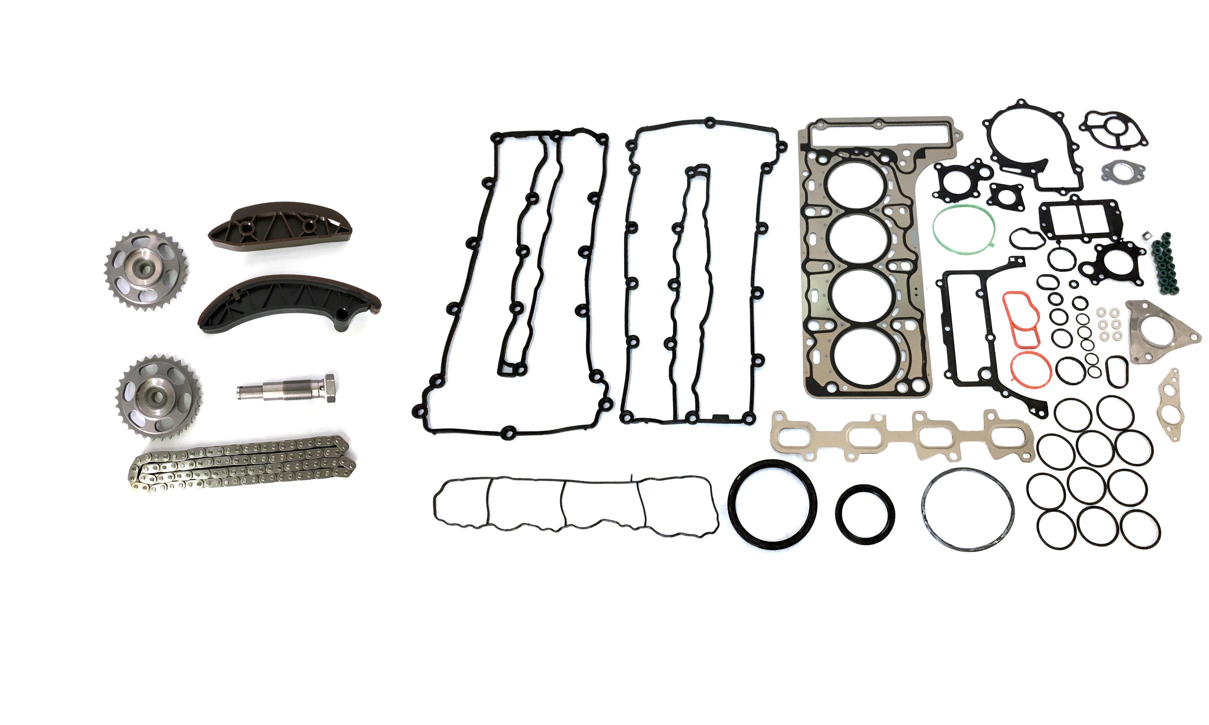 Junta da cabeça do cilindro tempo de cadeia definida para a Mercedes-Benz C-class, o 2.2 CDI OM651 NOVO
