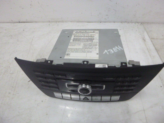 Radio Navigationssystem Mercedes Benz C204 Coupe 2,2 CDI 651.911 A2049001108