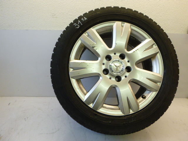 Komplettrad Mercedes C220 2,2 651.911 205/55 R16 91H 2012 3mm DE183986