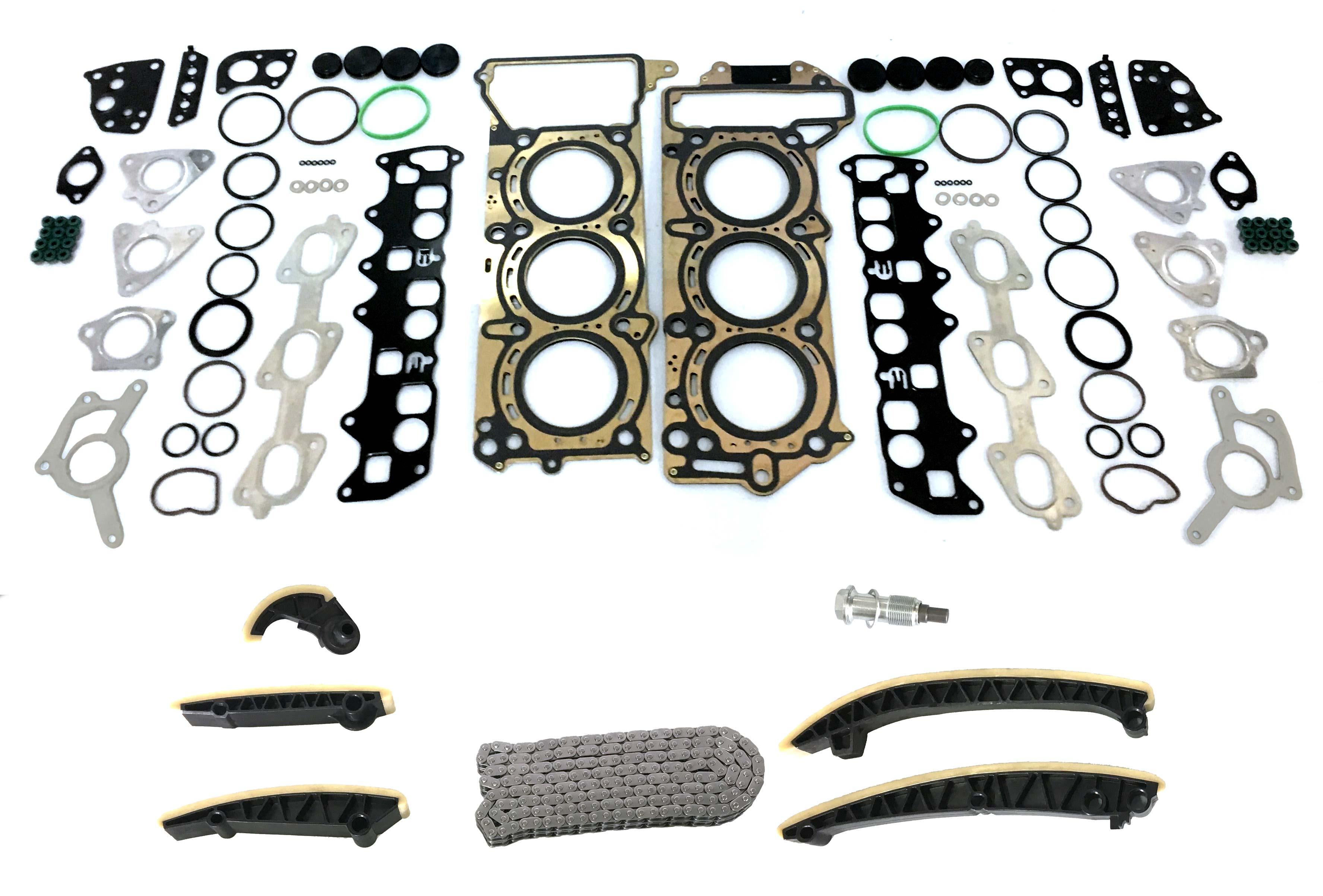 Junta da cabeça do cilindro Cam cadeia kit conjunto da junta de Mercedes 3.0 CDI 642.820 NOVO