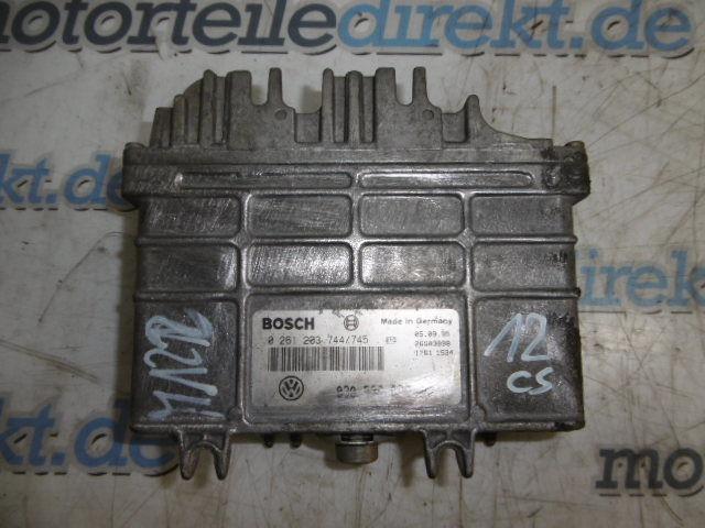 Steuergerät Motorsteuergerät VW Polo 6N 1,0 Benzin AEV 0261203744 /745