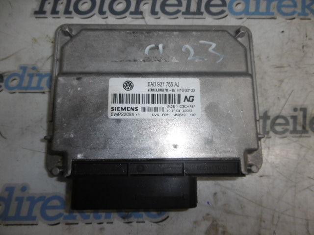 Steuergerät VW Touareg 7LA 7L6 7L7 5.0 V10 TDI BLE 0AD927755AJ