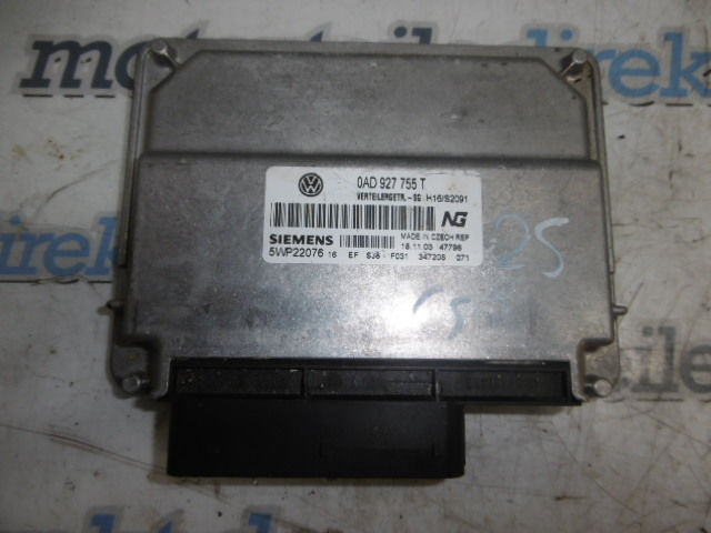Steuergerät VW Touareg 2,5 TDI Diesel R5 RDI BAC 0AD927755T DE46179